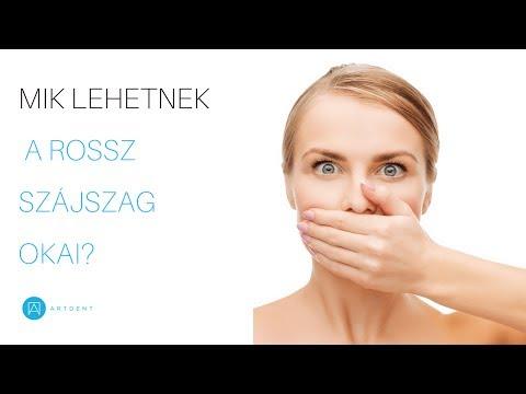 szájszag által történő diagnosztika