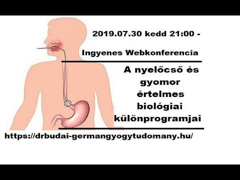 gyomorproblémák, rossz lehelet miatt)
