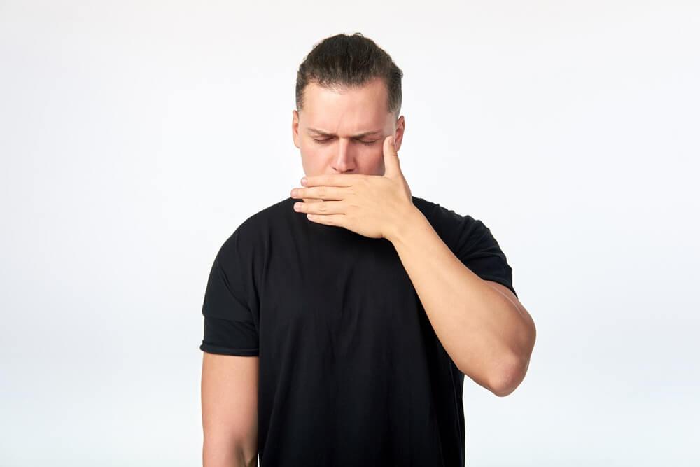 az aceton szaga a szájból egy falatozás után
