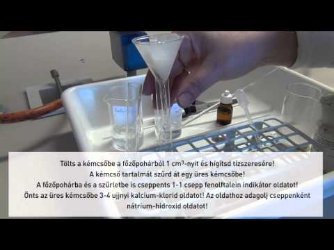 Kémcsőben enterobiosishoz gyógyszertárakban. Laboreszköz katalógus