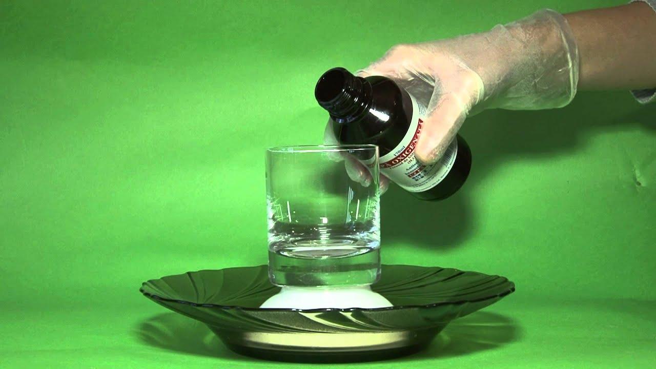 hidrogén peroxid parazita kezelés