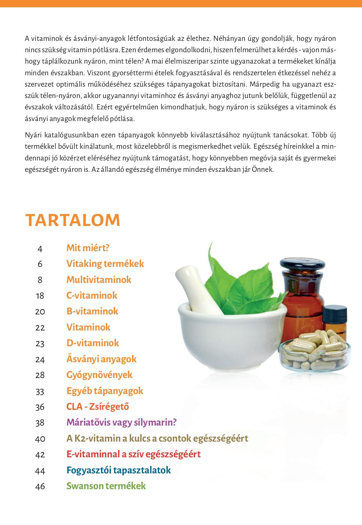 vitaminok és férgek