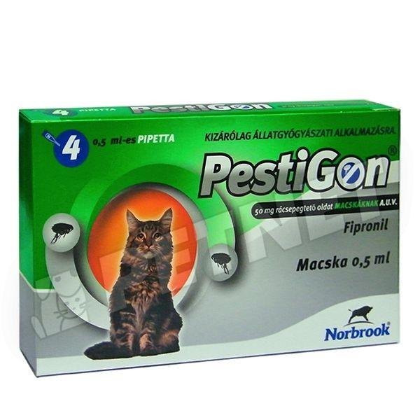 Macskák élősködők elleni védelméhez