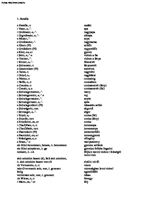 féreg kijárat