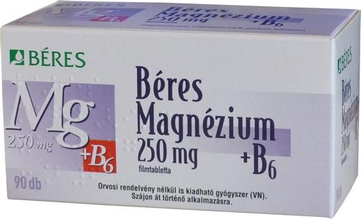 gyógyszerek, amelyek növelik a magnéziumot a szervezetben