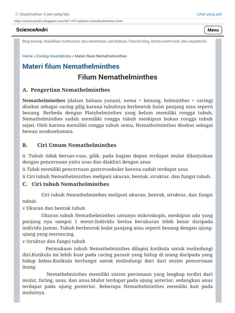 KARMOS FÉREGLÁBÚAK törzse (Phylum ONYCHOPHORA) - PDF Free Download
