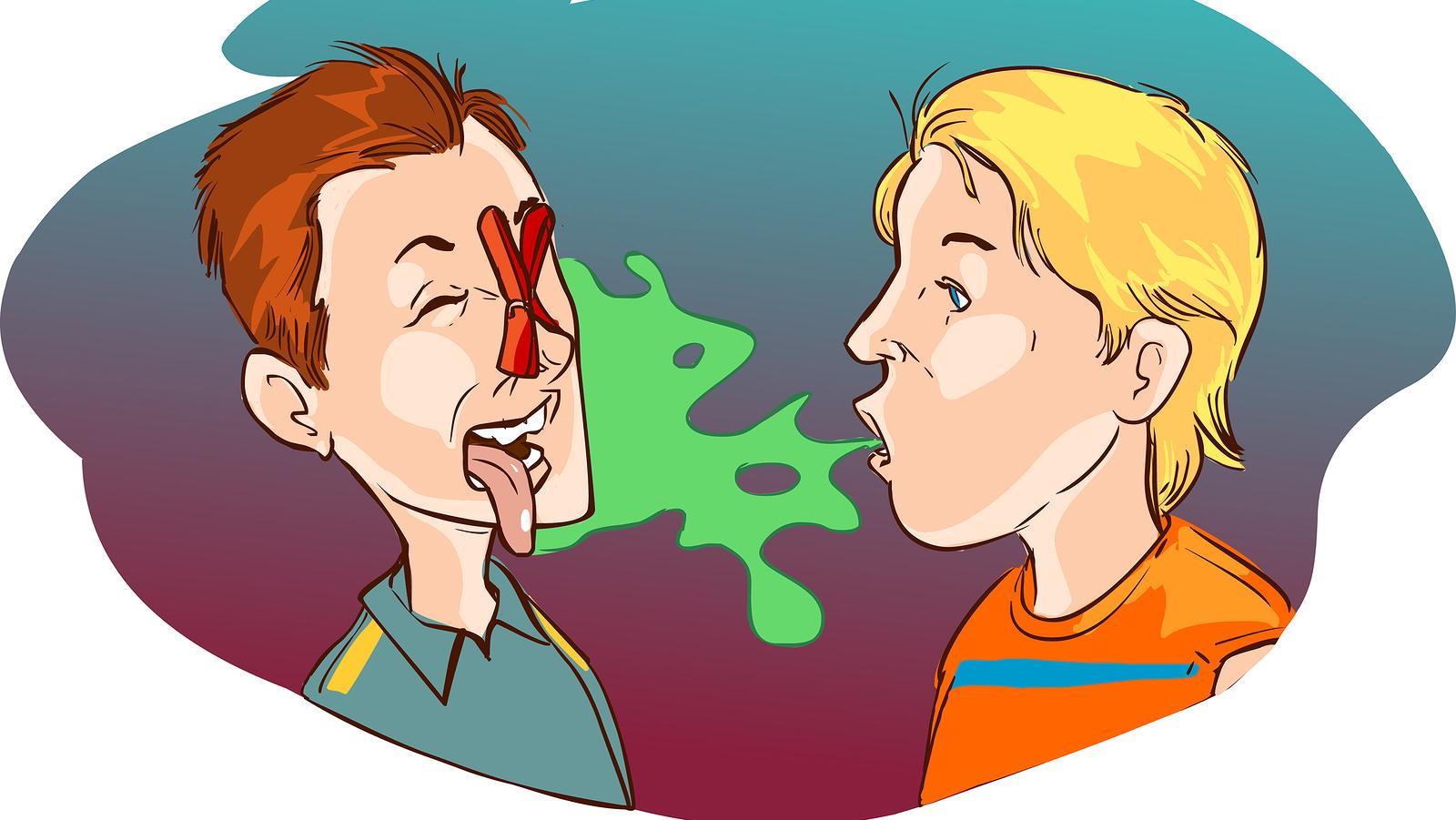 távolítsa el a rossz leheletet az orrból)