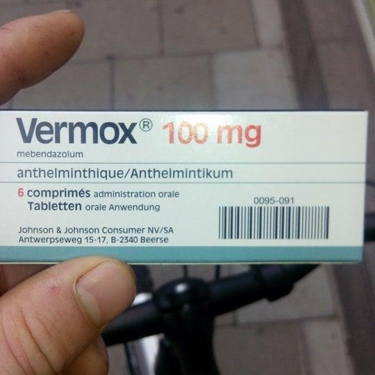 vermox anthelmintikum)