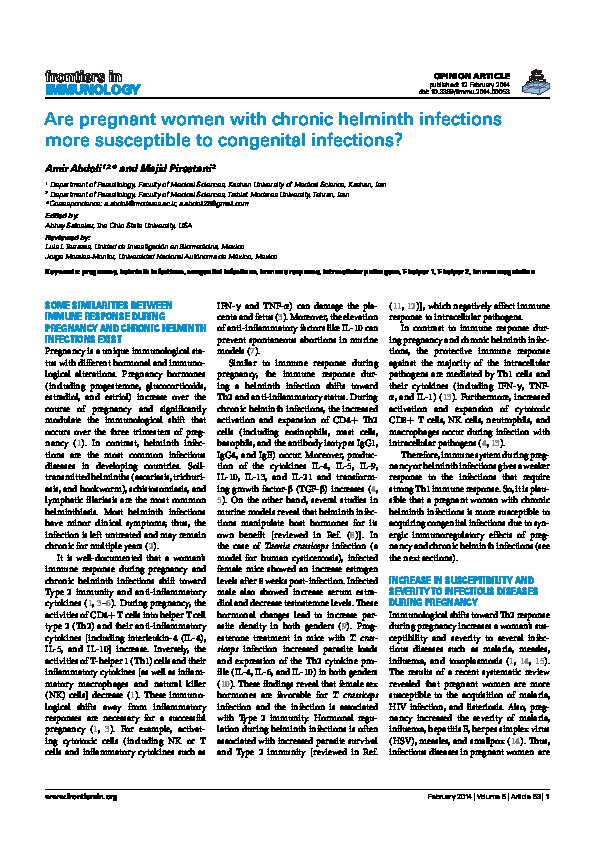 helminthiasis fajok