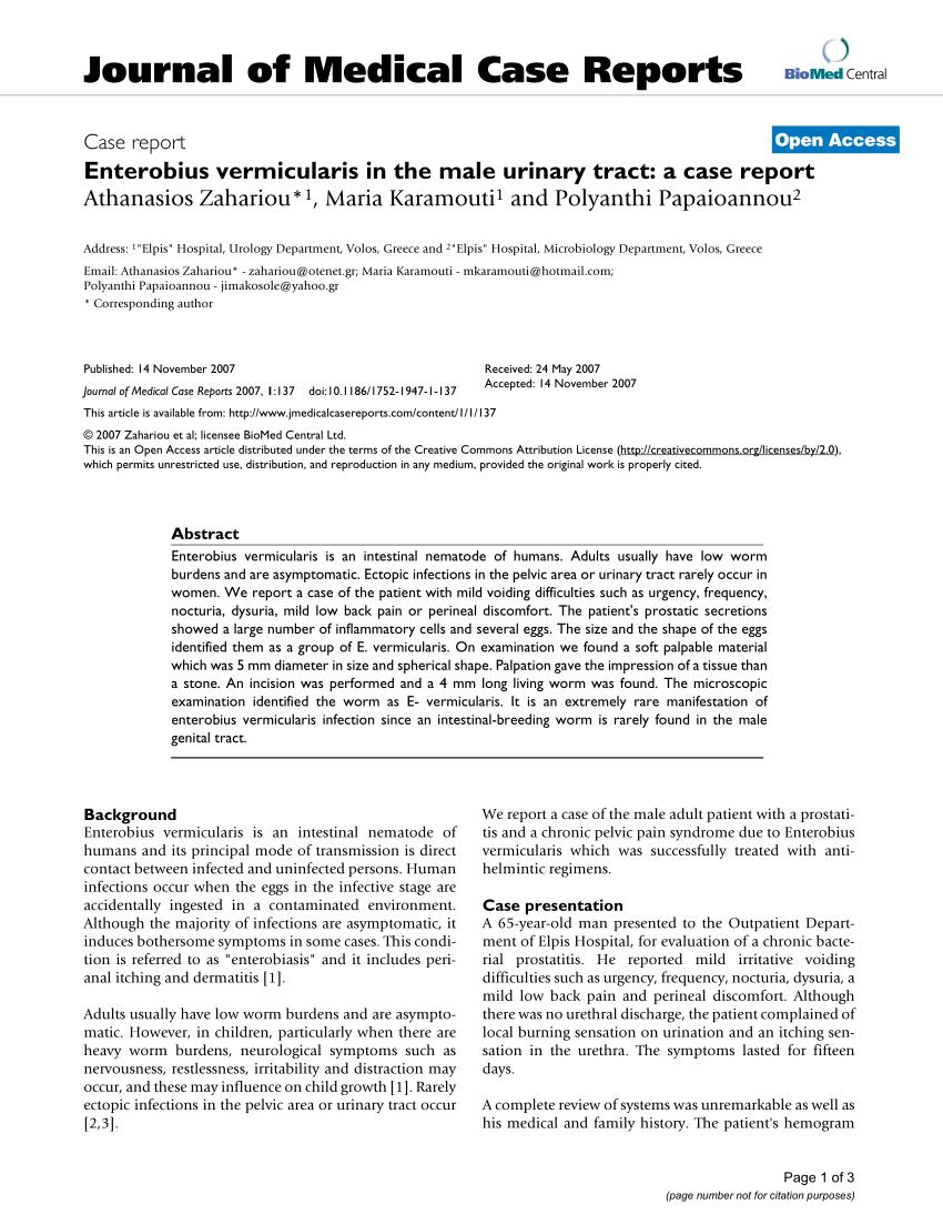 parazitafertőzések emberben ascaris fertőzés mechanizmusa