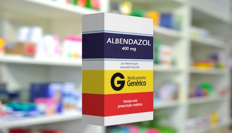 albendazol giardia posologia)