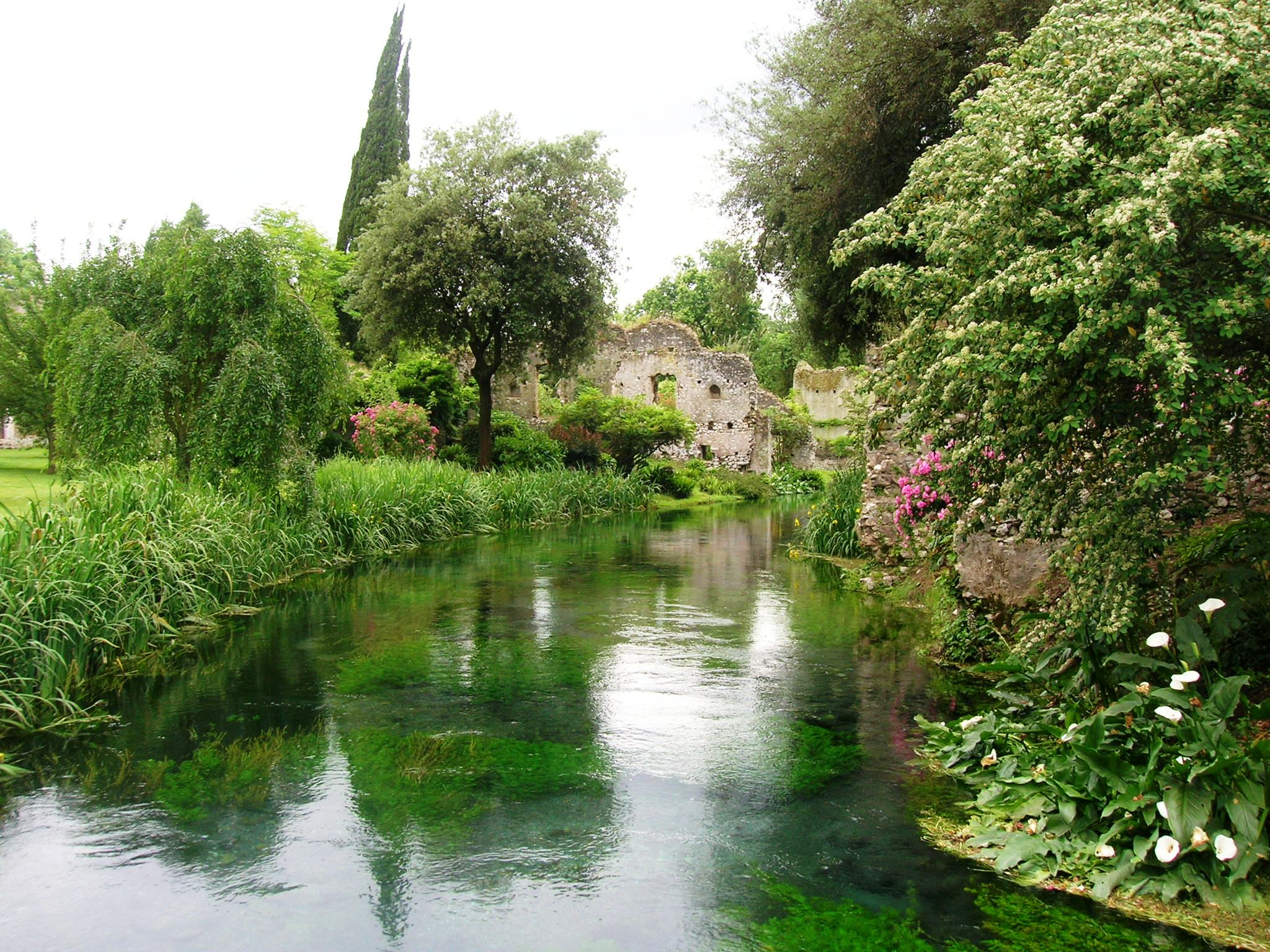 i giardini di ninfa storia
