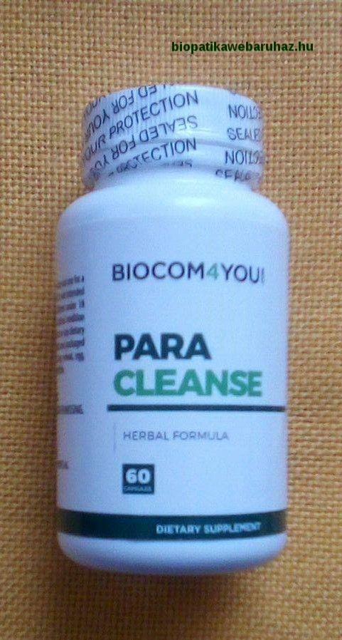 parazita test tisztító készítmény