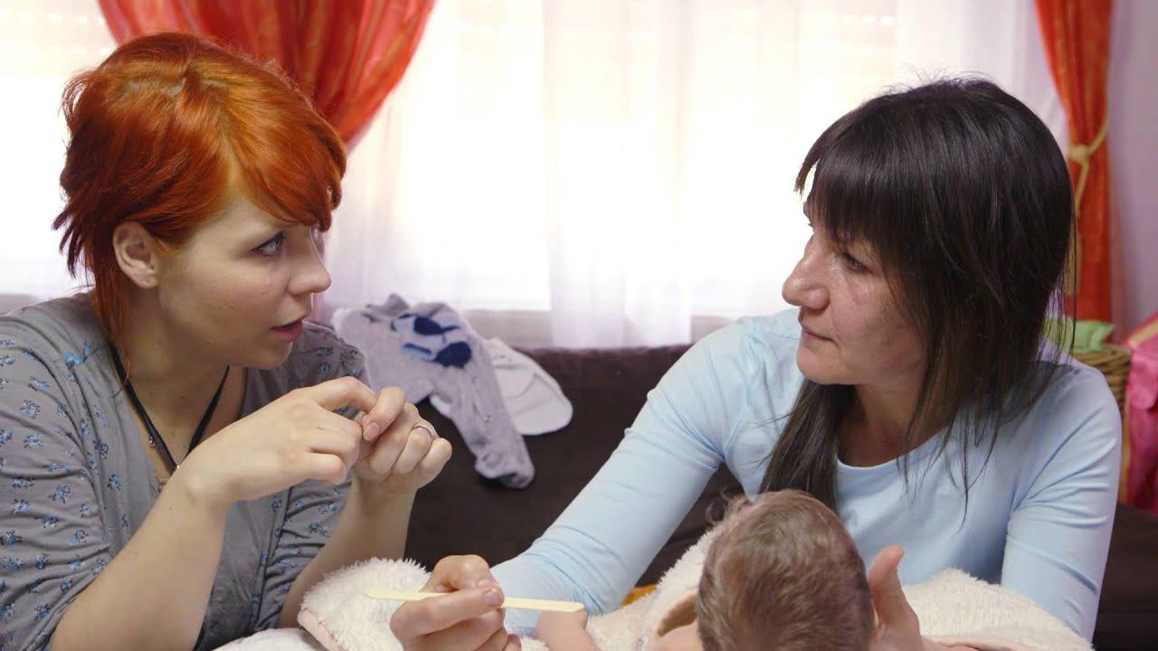 Szájpenész csecsemőknél