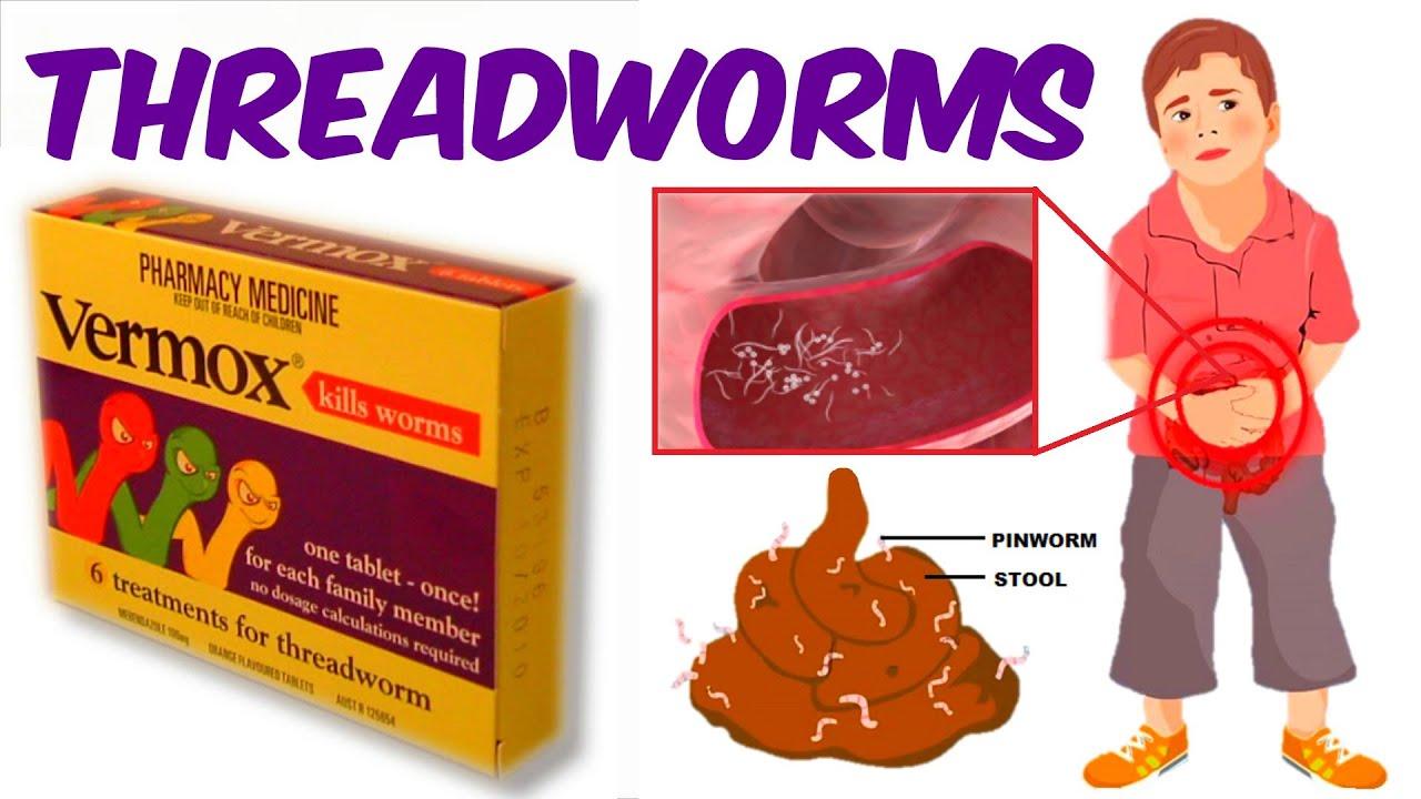 pinworms, ahol élnek a testben)