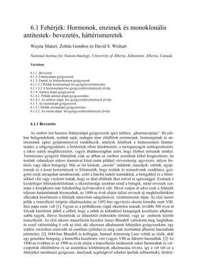 makroparaziták és a veleszületett immunreaktivitás
