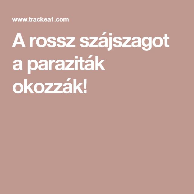 paraziták által okozott betegségek csoportja)